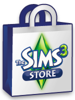 The Sims 3 Store logo