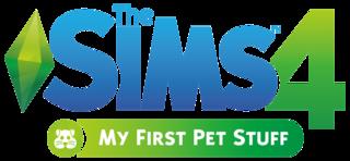 The Sims 4: My First Pet Stuff logo