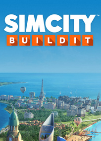 SimCIty BuildIt box art packshot