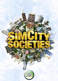 SimCity Societies for mobile phones box art packshot
