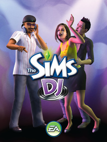 The Sims DJ for mobile phones box art packshot
