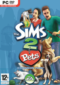 The Sims 2: Pets box art packshot