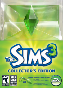 The Sims 3: Collector's Edition box art packshot US