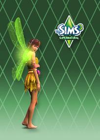 The Sims 3: Supernatural for mobile phones box art packshot