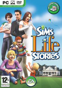 The Sims: Life Stories box art packshot