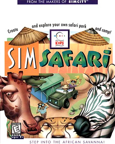 SimSafari Sim Safari packshot box art