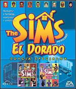 The Sims: El Dorado (Edycja Specjalna) packshot box art