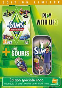 Les Sims 3: Kit Vitesse Ultime + Souris (Edition Limitée) packshot box art