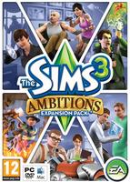 The Sims 3: Ambitions box art packshot
