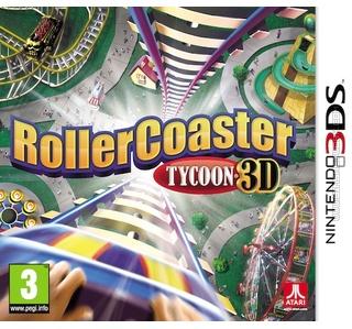 Rollercoaster Tycoon 3D packshot box art