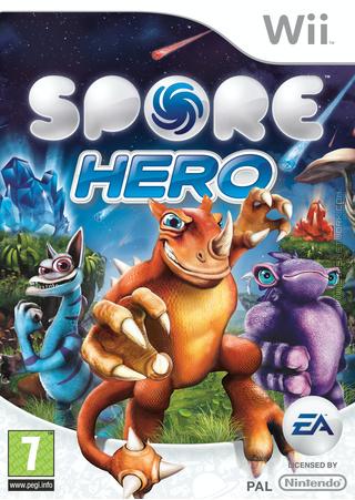 Spore Hero box art packshot