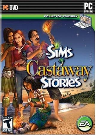 The Sims: Castaway Stories box art packshot US