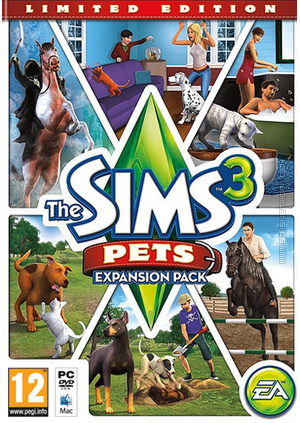The Sims 3: Pets (Limited Edition) packshot box art