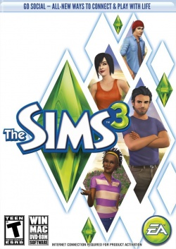 The Sims 3: Refresh box art packshot