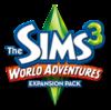 The Sims 3: World Adventures logo