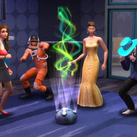 The Sims 4 Deluxe Party Edition on consoles PS4 Xbox One screenshot