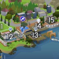 The Sims 4: Brindleton Bay world neighbourhood #3