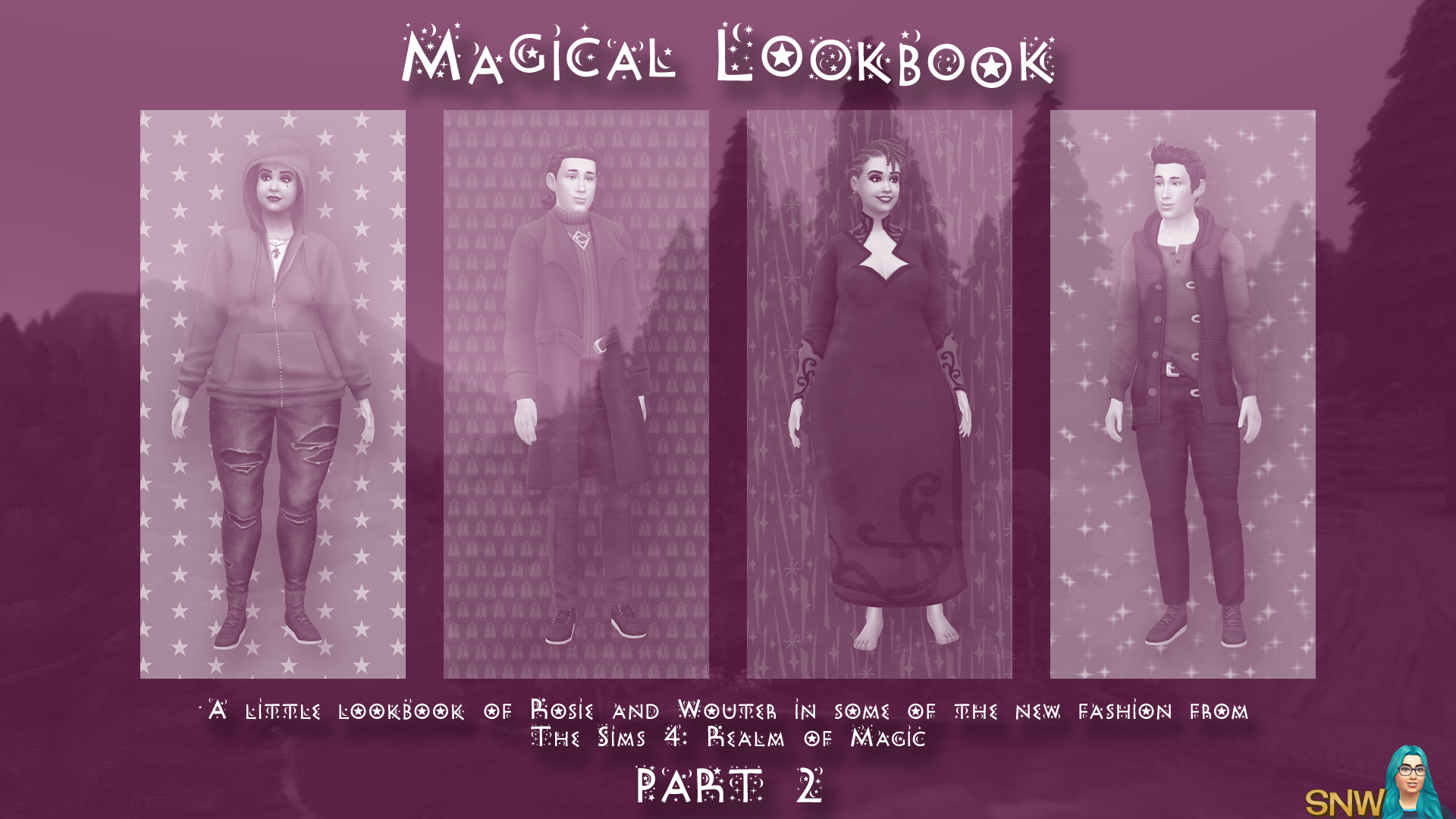 The Sims 4: Realm of Magic - A Little Lookbook by Rosie and Cheetah - Part 2