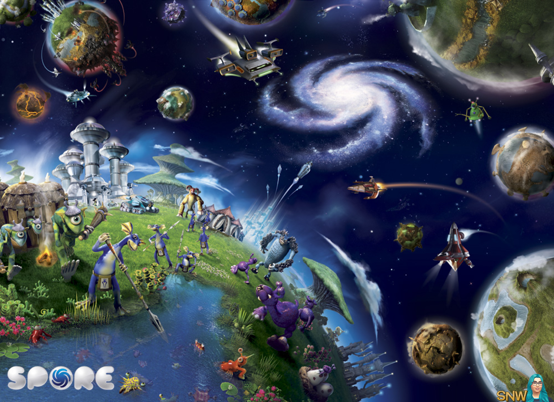 Ответы Как сделать свою планету в Spore? 22